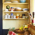Open kitchen shelves are a great way to display an eclectic collection or keep day-to-day dishes handy. How do you use open selves in your kitchen?