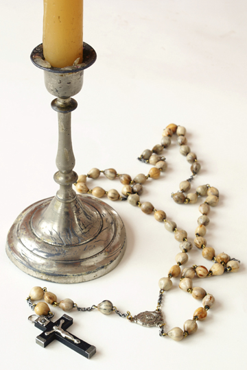 Antique Rosary Beads