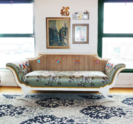 How To Reupholster A Vintage Sofa You Inpiration