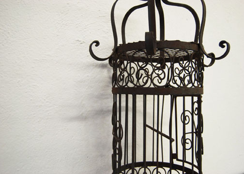 Antique Victorian birdcage